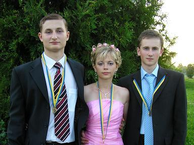 Випускники- медалісти 2006 р.